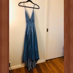 Dresses & Skirts - Cotton Denim HiLo Dress